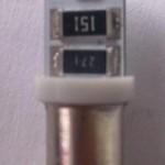 Can Bus Led, IC stabilizált bajonettes foglalat kép