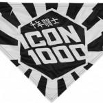 ICON 1000 HIGHWAY HANKY FEHÉR KENDŐ kép