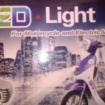 LED világító lámpatest kép