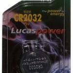 Lucas LBCR2032-C1 - Gombelem kép