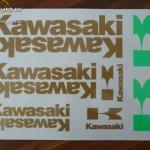Matrica szett, Kawasaki 02 kép