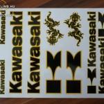 Matrica szett, Kawasaki 03 kép