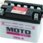 MotoSTART YB 4L-B elektrolittal kép