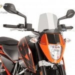 Naked New Generation plexi KTM 690 DUKE R 2012-2015 kép