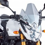 Naked New Generation plexi Yamaha FZ8 (2010-2015) kép