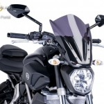Naked New Generation plexi Yamaha MT-07 2014 kép