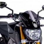 Naked New Generation plexi Yamaha MT-09 (2013-2016) kép