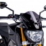 Naked New Generation plexi Yamaha MT-09 (2013-2016) kép