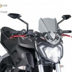 Naked New Generation plexi Yamaha Yamaha MT-125 (2015-2016) kép