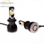 New Super Bright CREE LED Conversion Fényszóró KIT H7 kép
