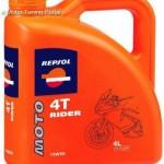 REPSOL MOTO RIDER 4T 15W-50 4L kép