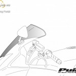 Standard plexi,Puig Yamaha FZ1 FAZER (2006-2016) kép