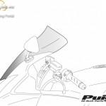 Standard plexi,Puig Yamaha YZF-R1 (2004-2006) kép