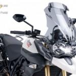 Túra plexi dupla légterelõvel Triumph TIGER 800 XC (2011- 2015) kép