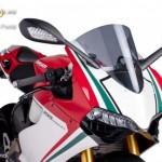 Verseny plexi,Puig Ducati 1199 SUPERLEGGERA /1199 PANIGALE (2012-2014) kép