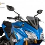 Verseny plexi,Puig Suzuki GSX-S1000F 2015 kép