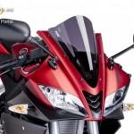 Verseny plexi,Puig Yamaha YZF-R125 2008-2015 kép