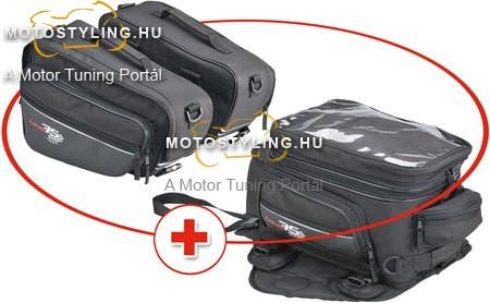 LOUIS75 TANKTÁSKA OLDALTÁSKA SZETT Motoros táskák